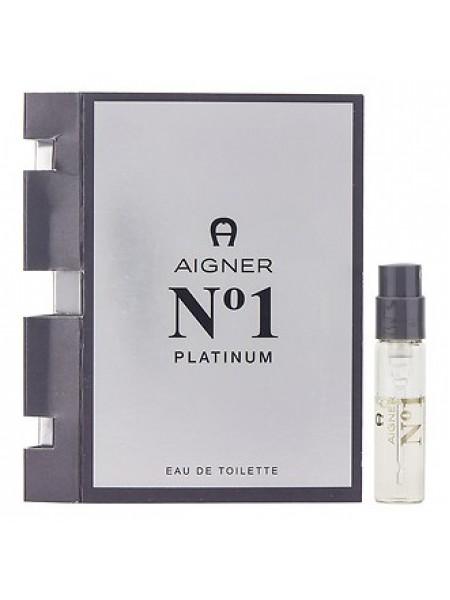 Aigner No 1 Platinum пробник 1.5 мл
