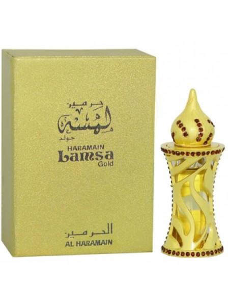 Al Haramain Lamsa Gold масляные духи 12 мл
