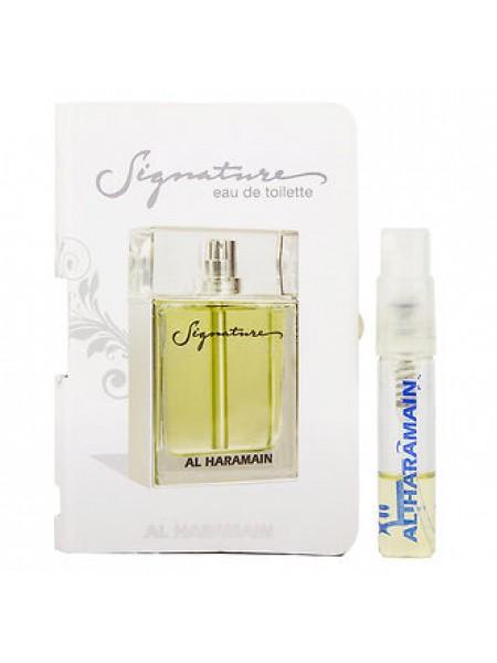 Al Haramain Signature Men пробник 1.5 мл