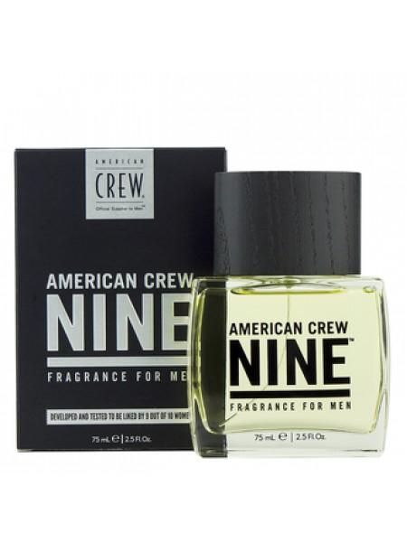 American Crew Nine Fragrance For Men туалетная вода 75 мл