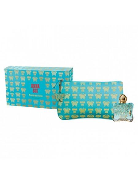 Anna Sui Romantica Exotica Подарочный набор (туалетная вода 30 мл + косметичка)