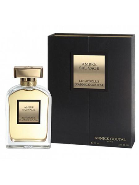 Annick Goutal Ambre Sauvage парфюмированная вода 75 мл