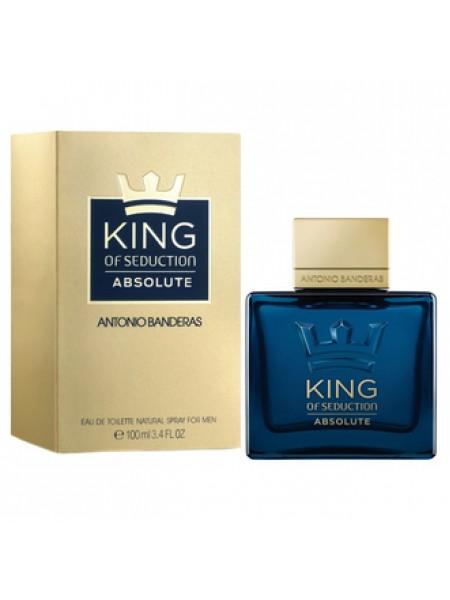 Antonio Banderas King of Seduction Absolute туалетная вода 100 мл