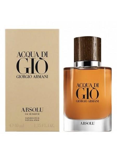Armani Acqua di Gio Absolu парфюмированная вода 40 мл