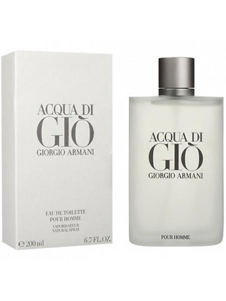 Armani Acqua di Gio Pour Homme туалетная вода 200 мл