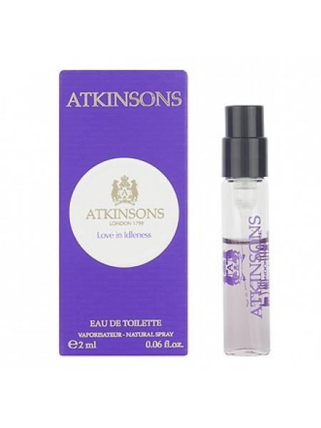 Atkinsons Love in Idleness пробник 2 мл