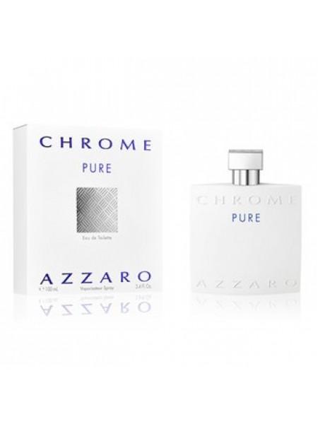 Azzaro Chrome Pure тестер (туалетная вода) 100 мл