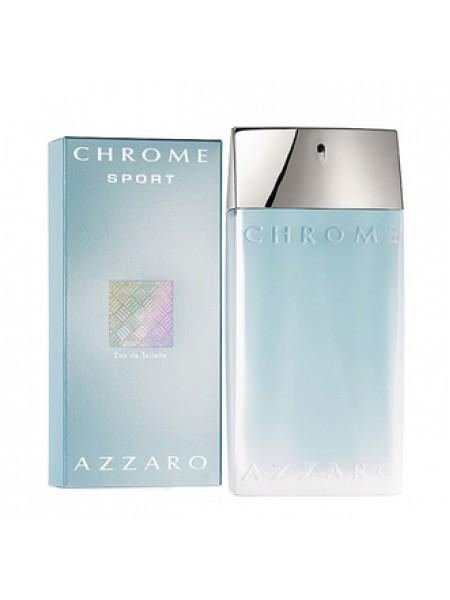 Azzaro Chrome Sport туалетная вода 100 мл