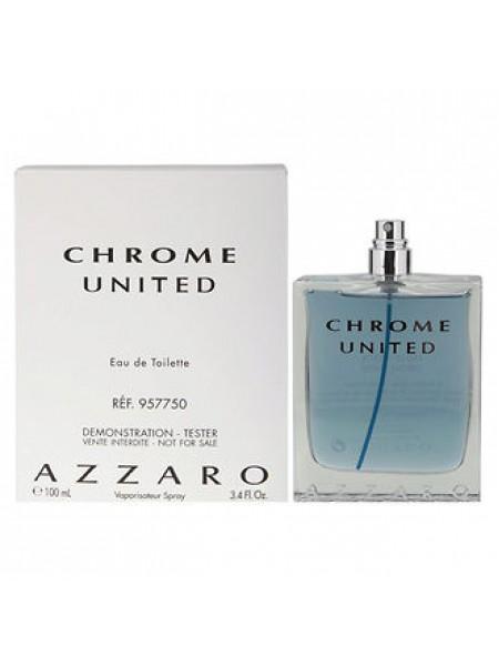 Azzaro Chrome United тестер (туалетная вода) 100 мл