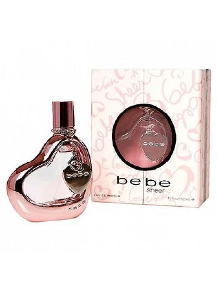 Bebe Sheer парфюмированная вода 50 мл