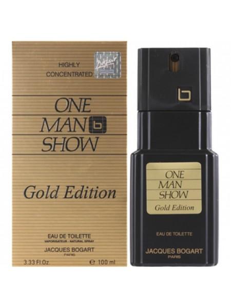 Bogart One Man Show Gold Edition туалетная вода 100 мл