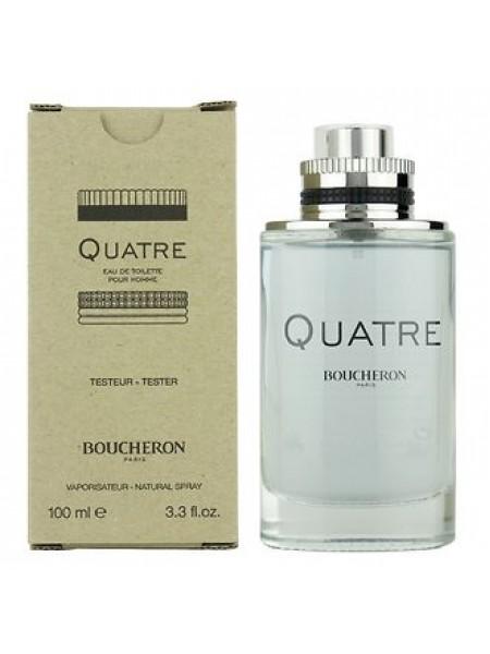 Boucheron Quatre Pour Homme тестер (туалетная вода) 100 мл