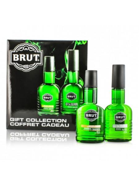 Brut Eau de Brut Подарочный набор (туалетная вода 100 мл + дезодорант-спрей 200 мл)