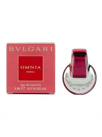 купить Bvlgari Omnia Coral миниатюра 5 мл в интернет магазине