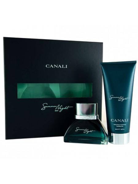 Canali Summer Night Подарочный набор (туалетная вода 100 мл + гель для душа 200 мл)