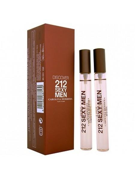Carolina Herrera 212 Sexy Men Подарочный набор (туалетная вода Discover 212 Sexy Men 2 x 10 мл)