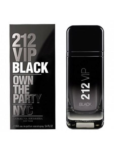 Carolina Herrera 212 VIP Black парфюмированная вода 100 мл