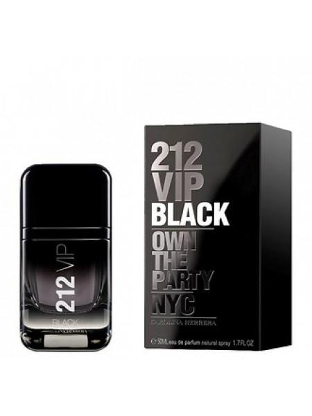 Carolina Herrera 212 VIP Black парфюмированная вода 50 мл