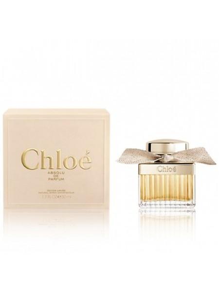 Chloe Absolu de Parfum парфюмированная вода 50 мл
