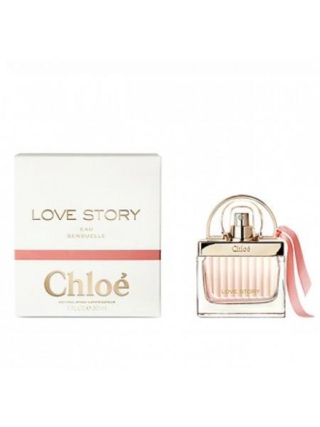 Chloe Love Story Eau Sensuelle парфюмированная вода 30 мл