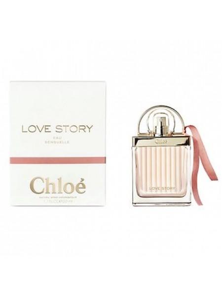 Chloe Love Story Eau Sensuelle парфюмированная вода 50 мл