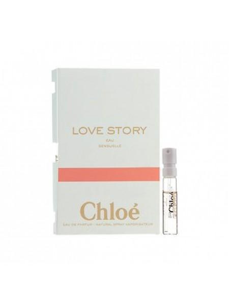 Chloe Love Story Eau Sensuelle пробник 1.2 мл