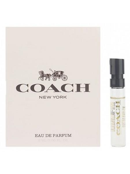 Coach New York The Fragrance For Women пробник 2 мл