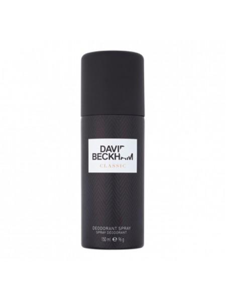 David Beckham Classic дезодорант спрей 150 мл