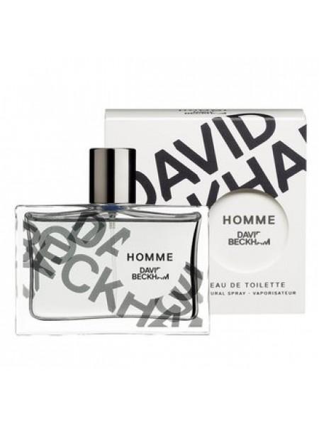 David Beckham Homme Подарочный набор (дезодорант-спрей 75 мл + дезодорант спрей 150 мл)