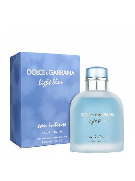 D&G Light Blue Eau Intense Pour Homme парфюмированная вода 100 мл