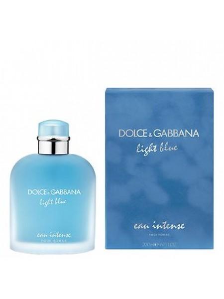 D&G Light Blue Eau Intense Pour Homme парфюмированная вода 200 мл