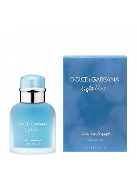 D&G Light Blue Eau Intense Pour Homme парфюмированная вода 50 мл