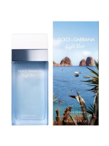 D&G Light Blue Love in Capri туалетная вода 100 мл