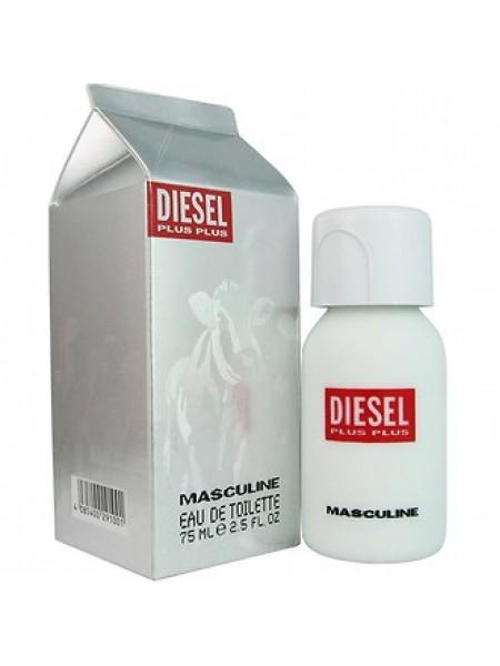 Diesel Plus Plus Masculine туалетная вода 75 мл