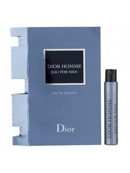 Dior Homme Eau for Men пробник 1 мл