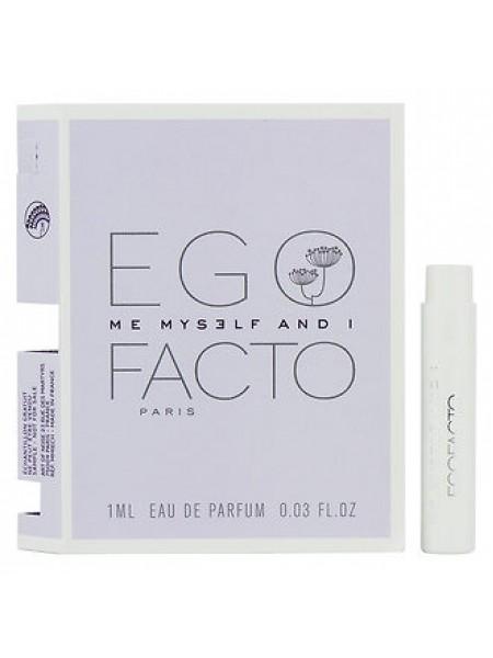 Ego Facto Me Myself & I пробник 1 мл