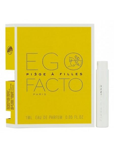 Ego Facto Piege a Filles пробник 1 мл