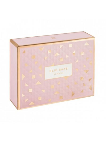 Elie Saab Le Parfum Rose Couture Подарочный набор (туалетная вода 90 мл + миниатюра 10 мл + лосьон для тела 75 мл)