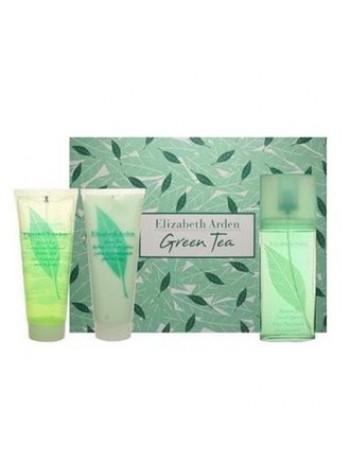 Elizabeth Arden Green Tea Подарочный набор (парфюмированная вода 100 мл + лосьон для тела 100 мл + гель для душа 100 мл)