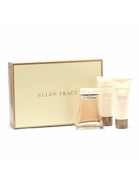 Ellen Tracy Подарочный набор (парфюмированная вода 100 мл + гель для душа 100 мл + лосьон для тела 100 мл)