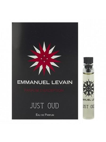 Emmanuel Levain Just Oud пробник 1.8 мл