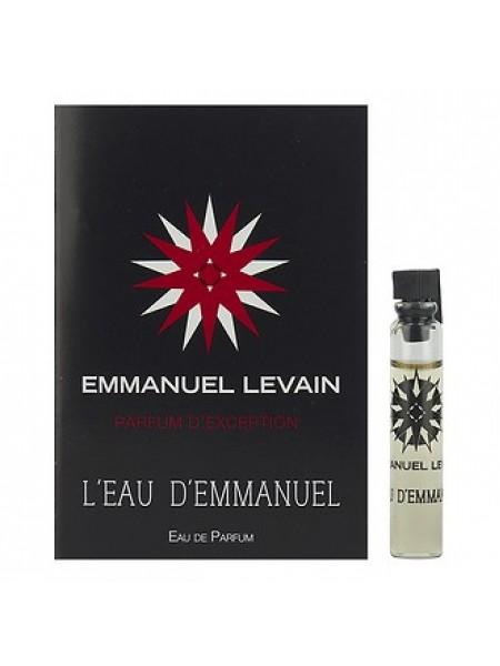 Emmanuel Levain L'eau D'emmanuel пробник 1.8 мл