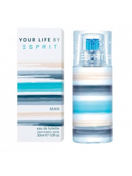 Esprit Your Life For Man туалетная вода 30 мл