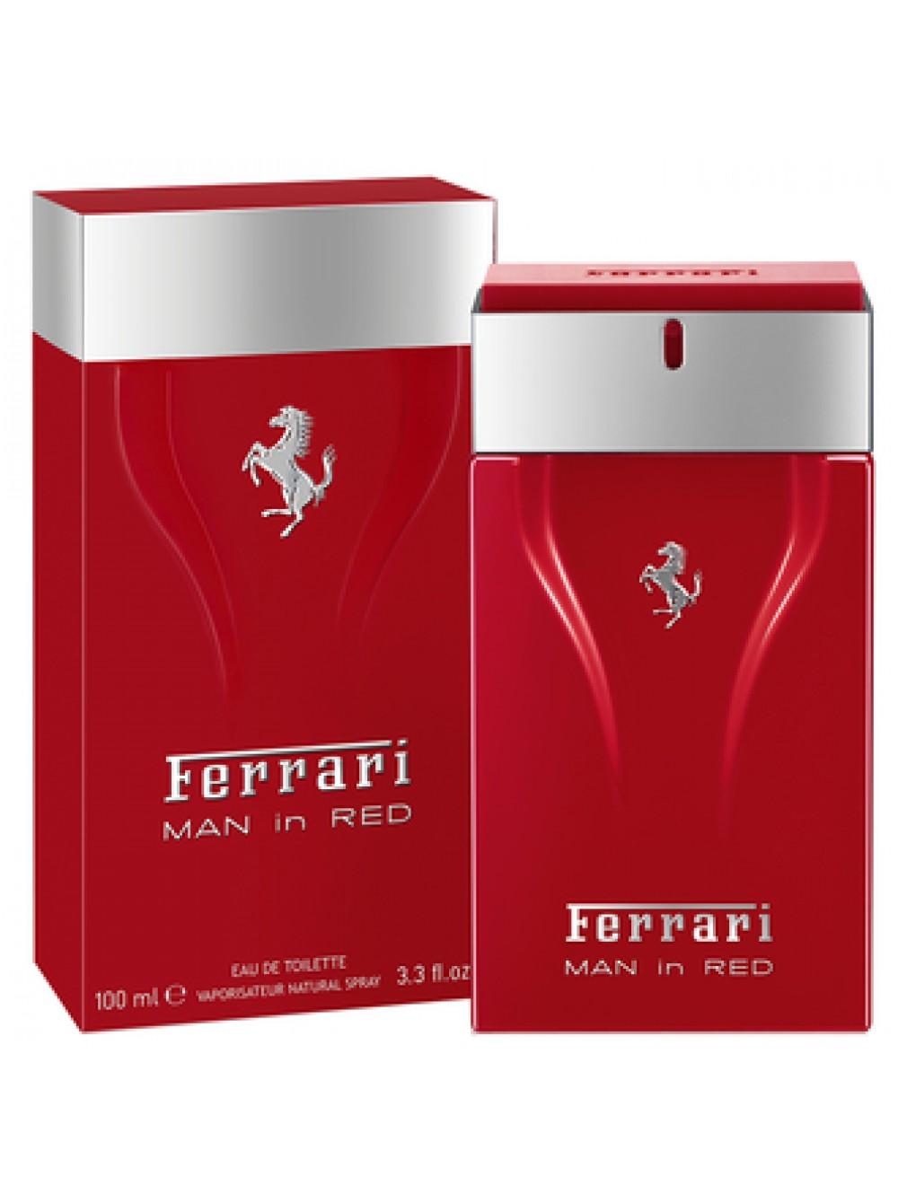 туалетная вода феррари для мужчин красная