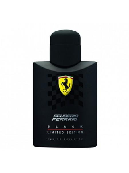 Ferrari Scuderia Black Limited Edition тестер (туалетная вода) 125 мл