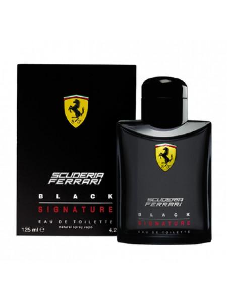 Ferrari Scuderia Black Signature туалетная вода 125 мл