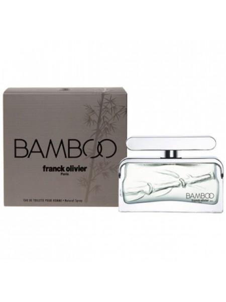 Franck Olivier Bamboo for Men туалетная вода 75 мл