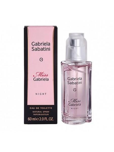Gabriela Sabatini Miss Gabriela Night туалетная вода 60 мл