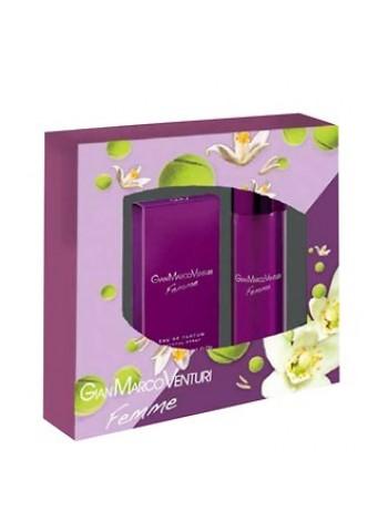 Gian Marco Venturi Femme Подарочный набор (парфюмированная вода 50 мл + дезодорант-спрей 150 мл)
