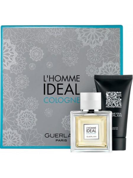 Guerlain L'Homme Ideal Cologne Подарочный набор (туалетная вода 50 мл + гель для душа 75 мл)